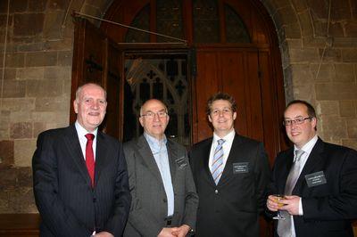 Graham, Philip, Pete Grzonka (Gloucs Rugby),Ian Selwood (Randall & Payne)