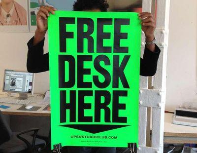 Free desk here 1