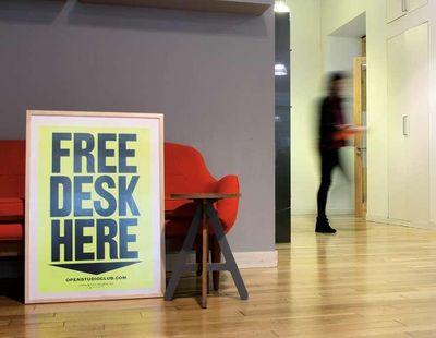 Free desk here 3