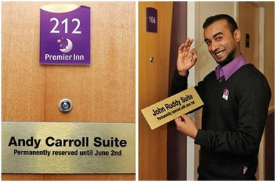 Premier Inn World Cup reserves