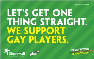 Paddy Power Rainbow Laces