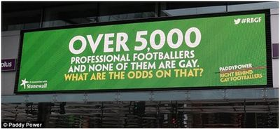 Paddy Power Right Behind Gay Footballers