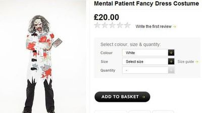 Asda mental patient costumer