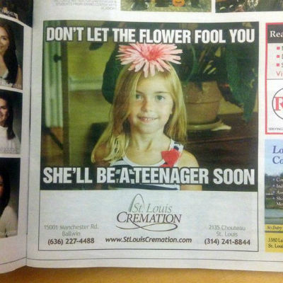 Cremation advert1