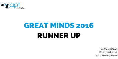 Great Minds Runner Up