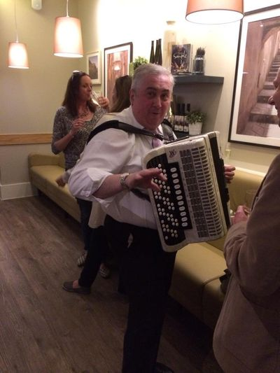 Accordian Carluccios Launch