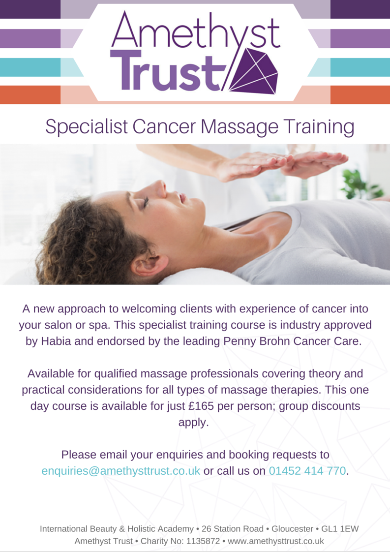 Specialist Cancer Massage Training